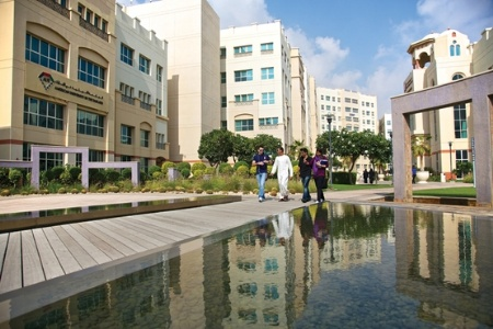 Students at Dubai International Academic City and Knowledge Village