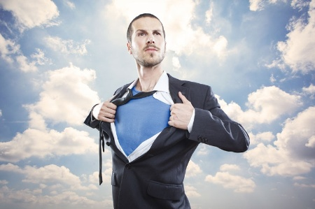 Superman business leader