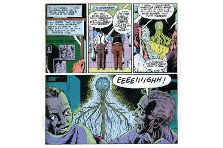 Watchmen comic panels (24 July 2014)
