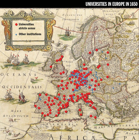Question about University in Europe.?
