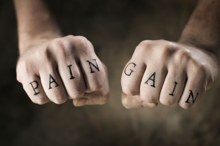 Pain/Gain tattoos