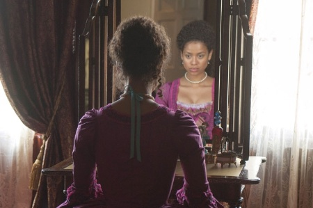 Gugu Mbatha-Raw as Dido, in Belle, by Amma Asante