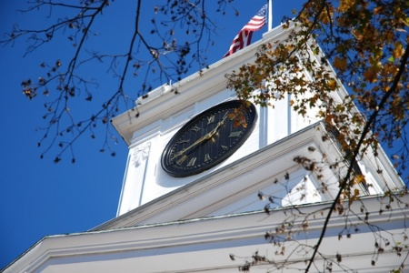 Amherst College clock tower