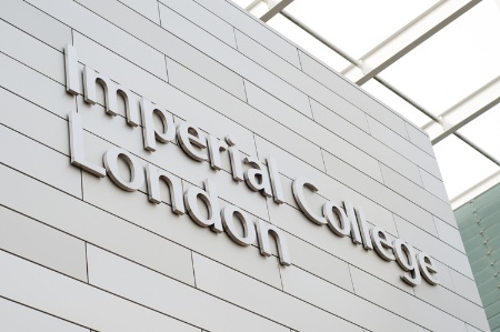 Imperial College London campus sign