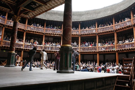 Performance of Shakespeare at the Globe