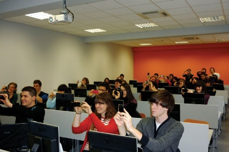 Students at Mondragon University