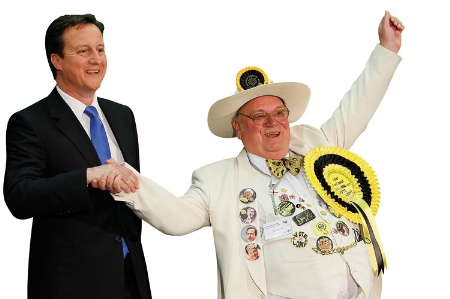 David Cameron and Howling Laud Hope