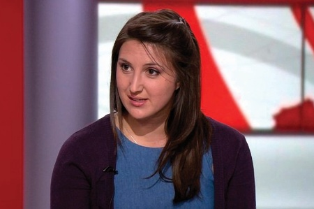 Rachel Wenstone, of the National Union of Students