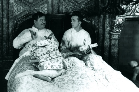 Laurel and Hardy on Christmas Day