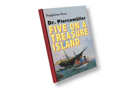 Five on a Treasure Island book