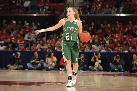 Female basketball player, Dartmouth College