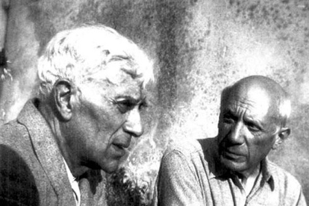 Georges Bracque and Pablo Picasso