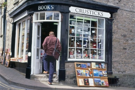Crusticks corner book shop