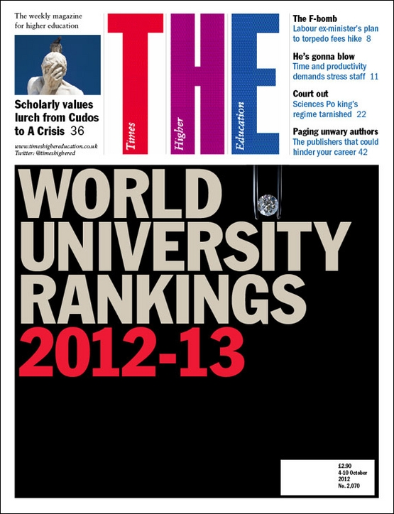 Times Higher Education World University Rankings 2012-13