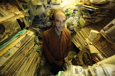 Hoarder material deviance