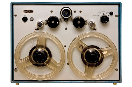 Reel-to-reel tape audio recorder