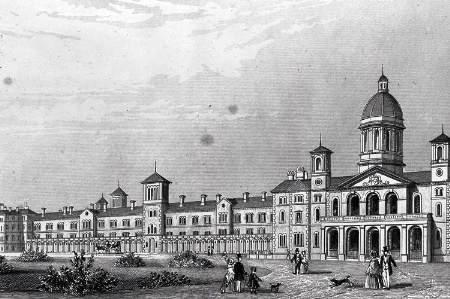 Friern Hospital/Middlesex County Pauper Lunatic Asylum (engraving)