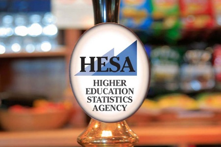 Higher Education Statistics Agency (HESA) beer pump