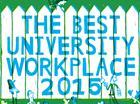 Times Higher Education Best University Workplace Survey 2015 logo