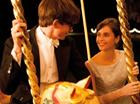Eddie Redmayne and Felicty Jones in The Theory of Everything