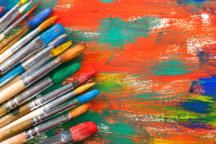 From portfolios to portfolio careers are arts students for Different types of paint for art