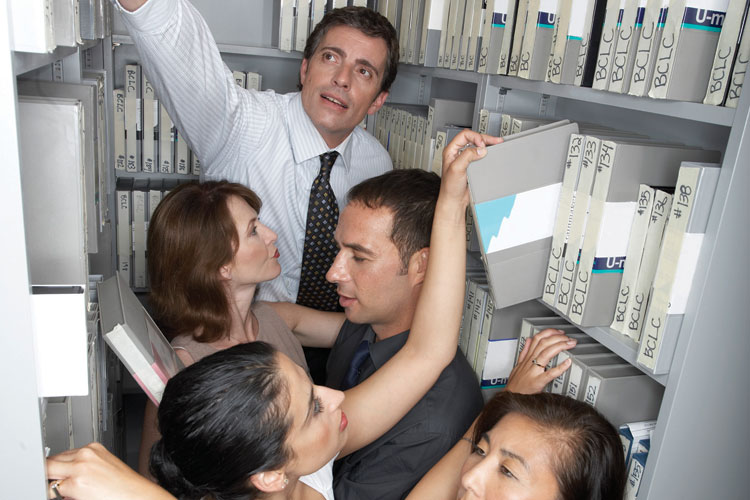 cramped office space. cramped office space cut departmental selfishness to costs report advises times t