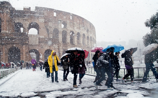 Long Cold Financial Winter Lies Ahead For Europes Academy - Italy in the winter