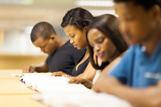 university students studying