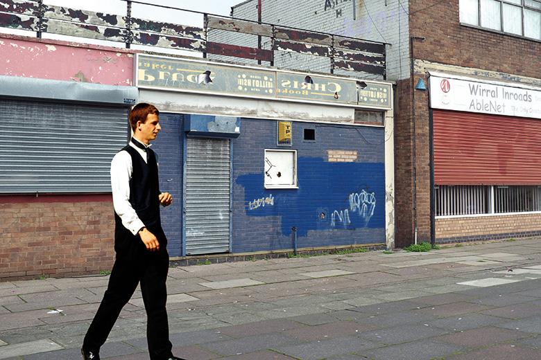 Abandoned businesses premises, Birkenhead, Wirral, Merseyside