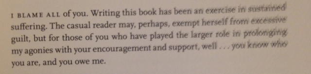 dissertation acknowledgements funny The best dedications ever written:  the 25 best dedications ever written by lauren passell /  acknowledgements, authors.