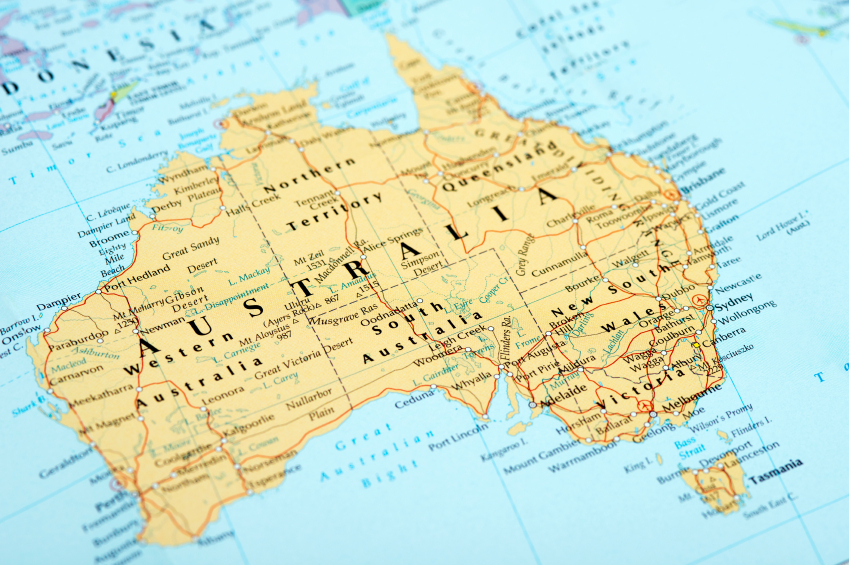 Things Every International Student Should Know About Australia - Australia map hd