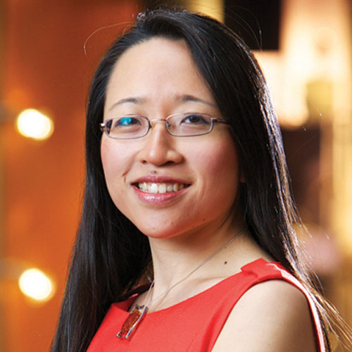 Author Eugenia Cheng