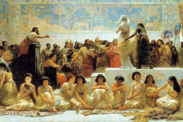 Babylonian Marriage Market, by Edwin L. Long