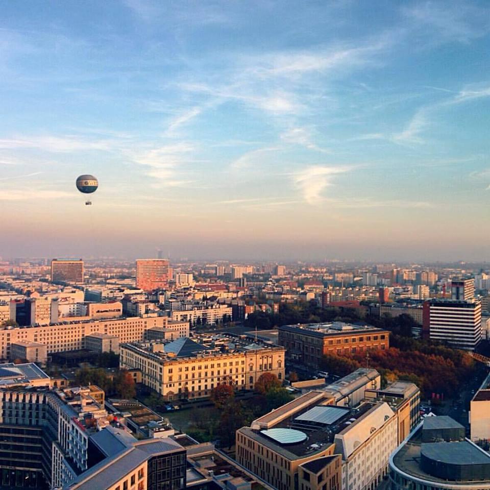 Berlin from the Potsdamerplatz view point
