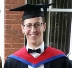 Forrest Dunbar graduation