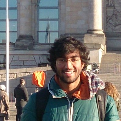 An indian student in France