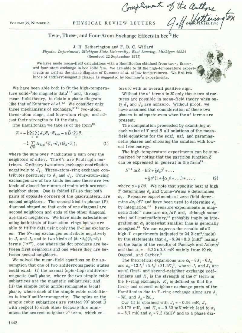 Cat Willard Paper