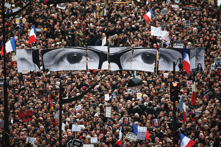 Charlie Hebdo March Paris