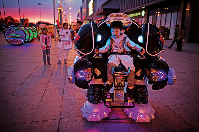 Child controlling robot