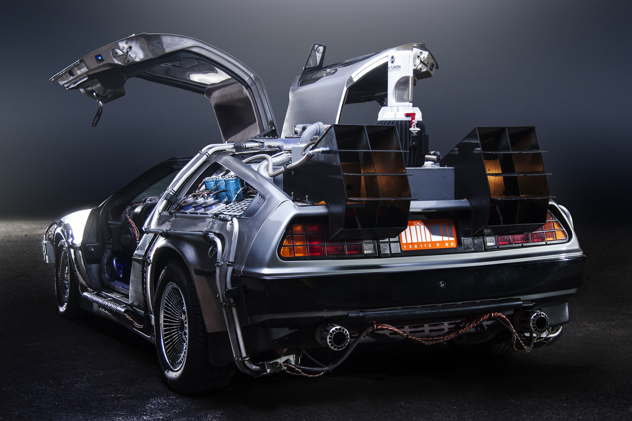time travel hoverboards and instant pizza degrees to consider on delorean time machine