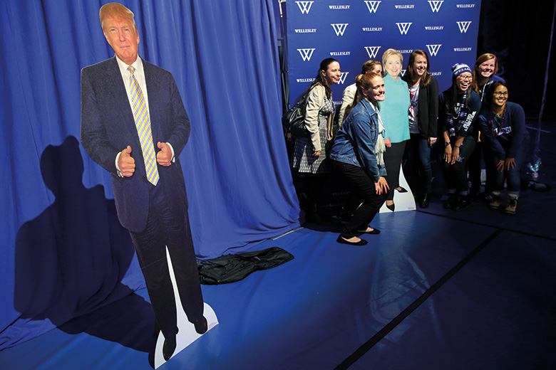 Donald Trump cut-out