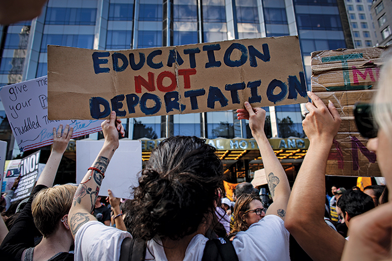 Education not deportation