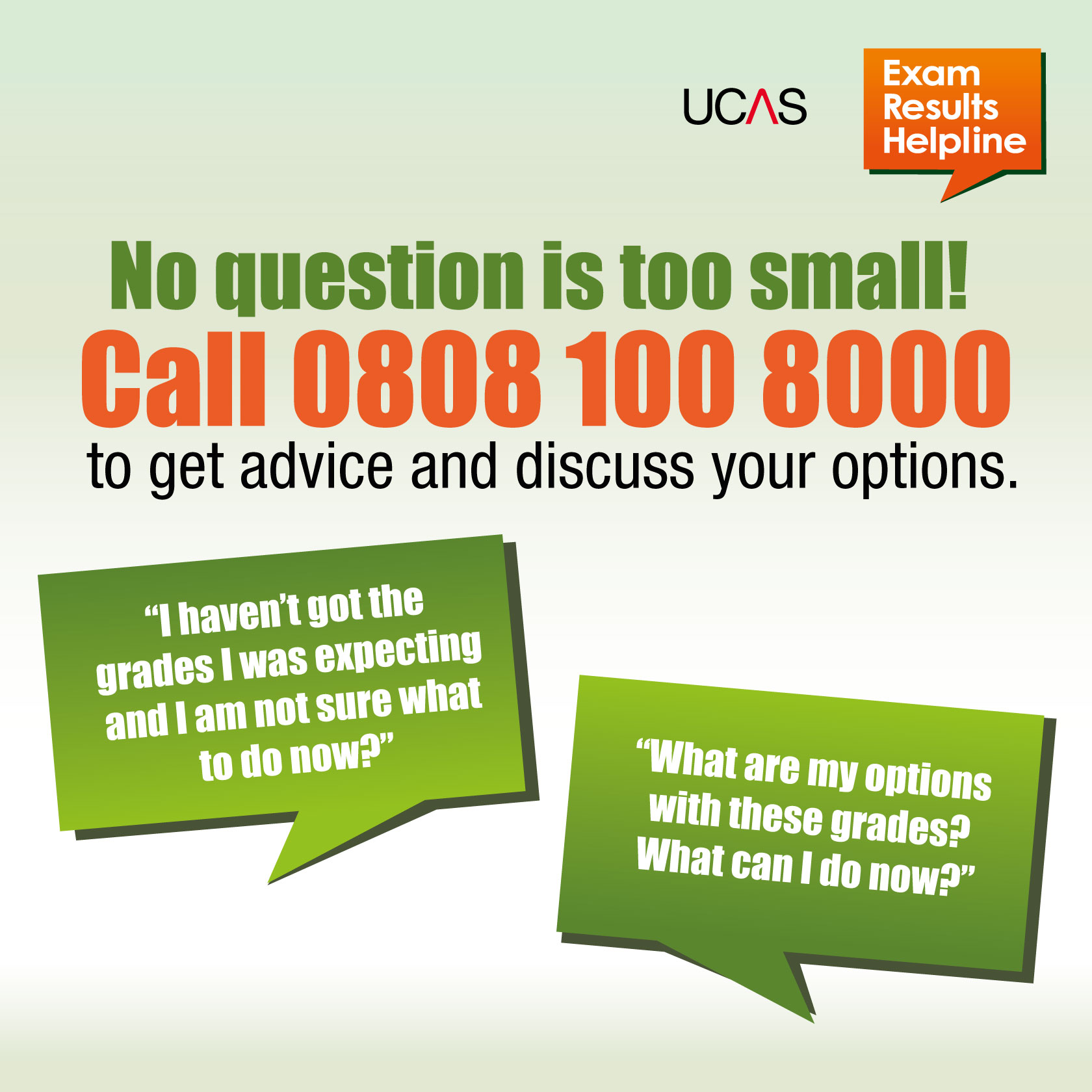 Ucas Exam Results Helpline