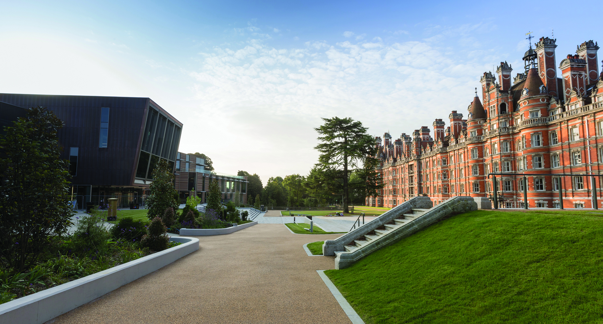 Royal Holloway - most beautiful universities in the UK