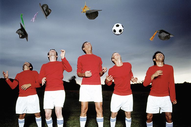 Football graduates