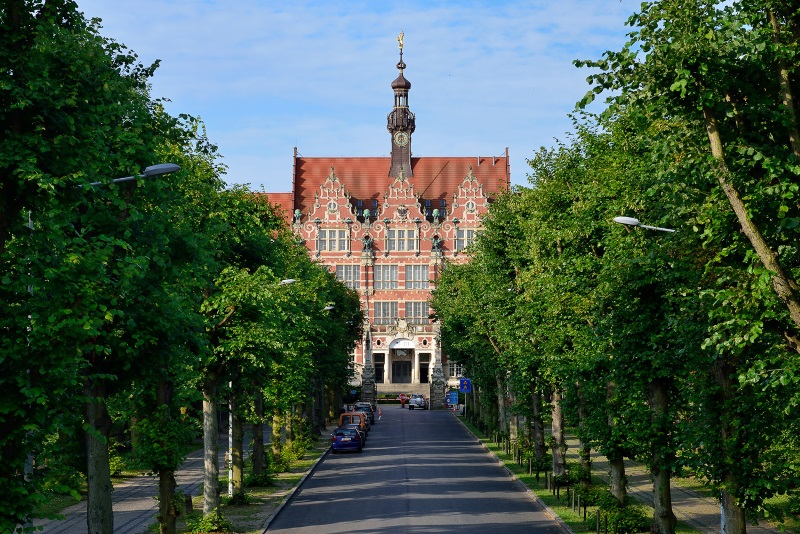 Most beautiful universities in Europe - Gdansk University of Technology.