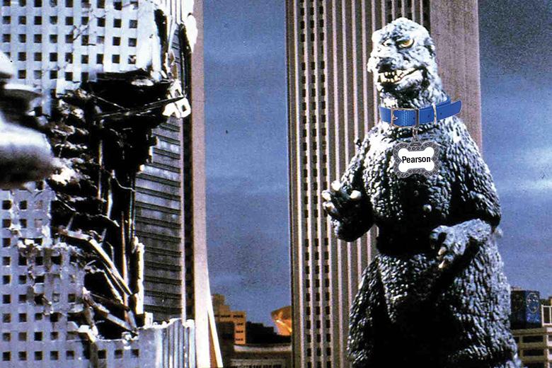 Godzilla Dog Collar