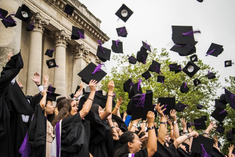 Graduation from university