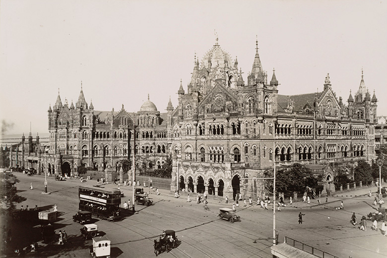 Great Indian Peninsula Railway station in Bombay