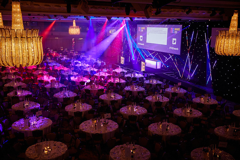 The THE Awards at the Grosvenor Hotel